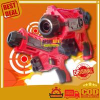 Pistol Airball Nerf Strike Out Tembakan Air Ball Gun Mainan Anak