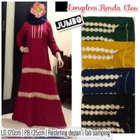 gamis renda - longdres renda arabia azka dress