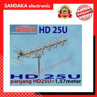ANTENA TV PF HD 25 DIGITAL OUTDOOR LUAR HDU25 HDU 25 HD-U25