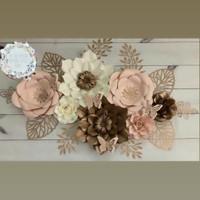 Paper Flower Backdrop (Serba 175rb)