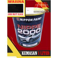 Cat Duco Nippon Paint Nippe 2000 1 Kg / 480D Matt Black