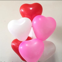 Balon hati balon love balon latex hati balon aksesoris valentine
