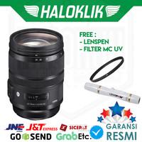 Sigma 24-70mm f/2.8 DG OS HSM Art with Filter MC UV + Lenspen Lens