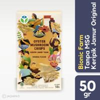 Bionic Farm - Keripik Jamur Original - Snack Sehat Tanpa MSG - 50gr