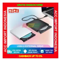 DVD External Slim Portable Optical Drive CD Room Burner PC Laptop 2.0