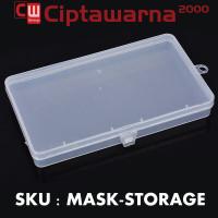 Portable Dustproof Mask Storage Box (Kotak Tempat Penyimpanan Masker)