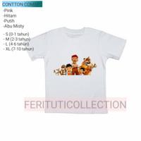 kaos anak film pada zaman dahulu - baju anak cotton 24s