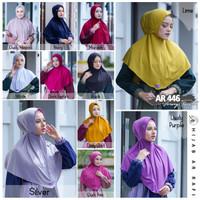 Hijab Arrafi Terbaru Jilbab Instant bergo Tali AR 446 Original