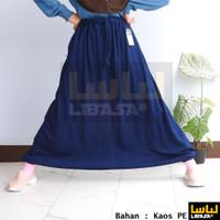 Rok Celana / Sirwal Akhwat / Rok Olahraga- bahan Kaos PE SINGLE ringan