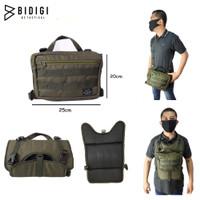 SLINGBAG/ ROMPI TACTICAL ARMY BIDIGI WINDBREAKER 7780