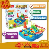 Mainan Edukasi Cotton Arcade Mainan Mobil Track