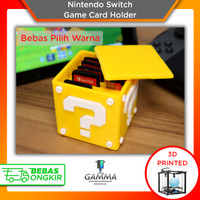 Nintendo Switch Game Card Holder - Cardtridge Stand Box Accessories