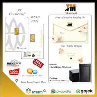 LOGAM MULIA ANTAM 1 gr CERTICARD LM 999.9 / 89081617 TEGUH MAS