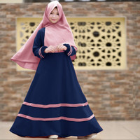 Gamis Anak Perempuan Listy Fashion Anak Busana Muslim Baju Gamis Anak
