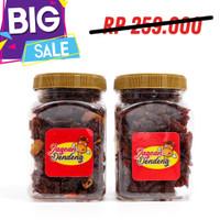 Jagoan Dendeng Sapi PAKET 2 PCS Siap Santap PRAKTIS Gurih Enak Manis - 2 Original