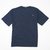 Dailyoutfits Kaos Polos Premium T-shirt Navy Katun Combed 30S Unisex