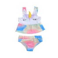 Unicorn Two Piece Swimsuit | Setelan Baju Renang Anak Perempuan Bayi