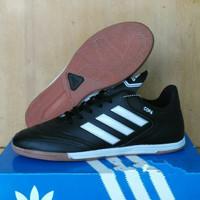 Sepatu Futsal Adidas Copa Komponen Ori - full hitam, 40