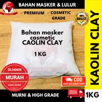 Kaolin Clay 1KG Bahan Masker Lulur / Bubuk Kaolin Cosmetic Grade