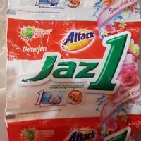 Detergen/Detergen Attack Jazz one 1 renceng isi 6 sachet