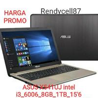 Laptop ASUS CORE i3 ASUS X541UJ Intel i3 6006_8GB_1TB_WIN10_15'6inch