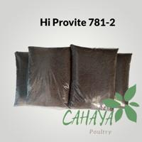 Pakan benih ikan lele nila gurame Pelet Hi Provite 781-2 repack 1kg