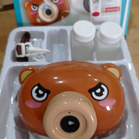 Mainan anak balon sabun kamera panda no. 2021ABE-SIEB