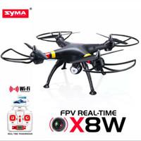 SYMA X8W Quadcopter camera 2.0MP FPV WIFI - hitam
