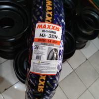 Maxxis Diamond Ukuran 90x90-14 MA-3DN TUBELES Ban Motor Scooter Matic