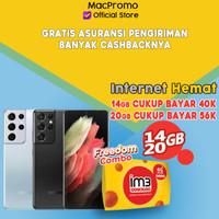 Samsung Galaxy S21 Plus 8/128GB Bundle Indosat Garansi Resmi SEIN