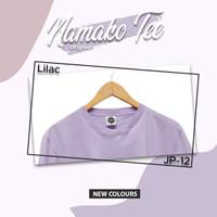 NAMAKO TEE ORIGINAL JP-12 LILAC/ Kaos polos lilac ungu