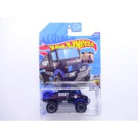 Hot Wheels FS 2020 No 81 Mercedes Benz Unimog 1300 Hitam SWAT
