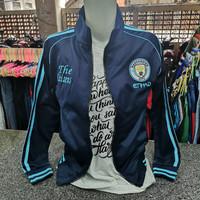 Jaket Bola Manchester City Unisex Pria Wanita Ukuran M