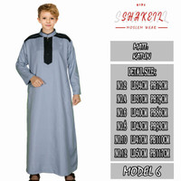 baju gamis anak laki laki / jubah anak laki laki - MODEL 6, 2