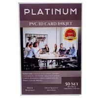 Kertas PVC Instant ID Card Inkjet A4 Putih Tebal 0,76mm Platinum