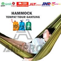 HAMMOCK AYUNAN GANTUNG - Tempat Tidur Gantung Camping Outdoor - HAMUK