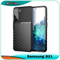 Casing Samsung Galaxy S21 S 21 Silicone Rubber Shockproof Soft Case