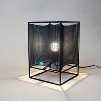 Metal table lamp / lampu hias
