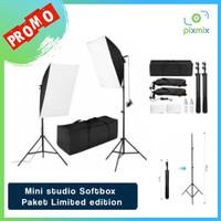 Mini studio Softbox - Paket Limited edition