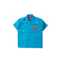 Empty Rubious Red Boxy Shirt