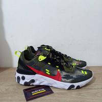 Sepatu Nike React Element 87 Undercover Green Black Red White
