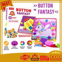 Cotton ButtonColor Geometric Mainan Edukasi Puzzle Warna Geometri