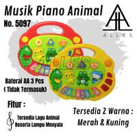 Mainan Anak Musik Piano Animal/ Mainan Edukasi Anak /Mainan Piano 5097