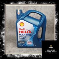 Oli Shell Helix HX-7 5W - 40 4 Liter