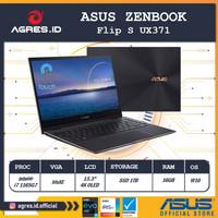 Asus Zenbook Flip S UX371EA 4K OLED i7 1165G7 EVO 16GB IrisXE W10+OHS