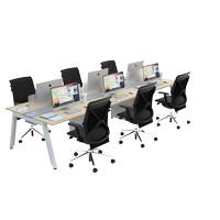 Firm by Malka - Workstation SATTU Konfigurasi 6 Orang - Meja Kantor