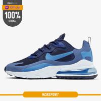 Sepatu Sneakers Nike Air Max 270 React Blue Void Original AO4971-400