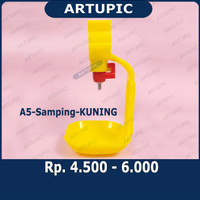 Alat Minum Nipel Nipple Drinkers Ayam A5-Samping Artupic