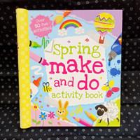 Buku Import Spring Make and Do Activity Book (Original)