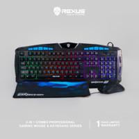 Rexus Keyboard Mouse Warfaction VR1 Combo